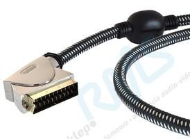 Interkonekt Scart-Scart (Euro) PGV7000 Profigold OxyPure - 1,5m
